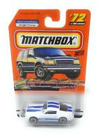 Matchbox MBX Superfast 1999 No 72 1965 Mustang Fastback USA exlusiv Modell
