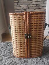 Wicker Wine Bottle Picnic Basket