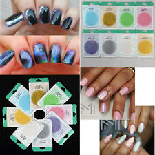 10g/Packung Schimmer Nagel Puder Chrom Pulver Pigmente Nail Glitters