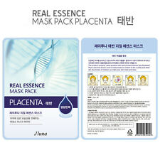Jluna Korean Cosmetics Natural Plant Essences Face Mask Pack 1PC Placenta