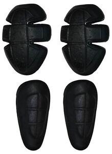 Level- 2 CE Protektoren Set Protektorenset Hüfte Knie für Motorrad Hose Jeans