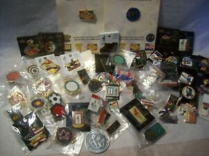 Large 53 Piece Pin Lot From The 1996 Atlanta Olympics and Paralympic Some New