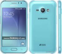 Brand New Samsung Galaxy J1 Ace Dual Sim 4GB Smartphone J110H/DS- BLUE- ANDROID