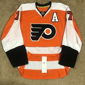 Reebok Wayne Simmonds Philadelphia Flyers NHL Hockey Jersey Orange Home 56