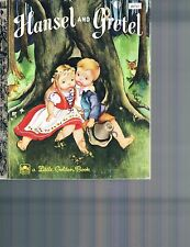 "Little Golden Book ""Hansel & Gretel"" Brothers Grimm & Eloise Wilkin HC 207-51"