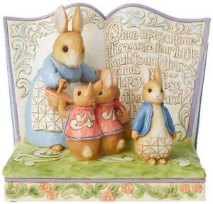 Enesco Jim Shore Heartwood Creek Peter Rabbit Storybook Figurine