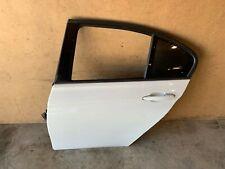 BMW F30 F31 REAR LEFT DRIVER SIDE DOOR SHELL ASSEMBLY WHITE ALPINE 300 OEM 86MK