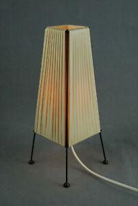 Mid Century Table Lamp Scandinavian Modern Atomic Age Vintage 1950s 60s 70s Era