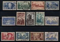 PP135345/ FRANCE STAMPS – YEARS 1938 - 1939 USED SEMI MODERN LOT – CV 179 $