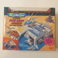VINTAGE Micro Machines Space Super Galaxy Command 90s New in Packaging