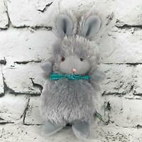 Bunnies By The Bay Bunny Rabbit Plush Gray Shaggy Stuffed Animal Soft Toy