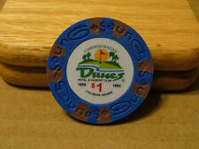 Dunes Poker Chip $1 Commemorative 9 gram Clay Composite NEW - FREE SHIPPING