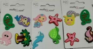 12 Piece Crocs Shoe Plug Charms Slippers Accessories Button Sea life water