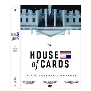 HOUSE OF CARDS - La Collezione Completa - Stagioni 1-6 (23 DVD)