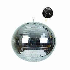 "555-17005 16"" Disco Motor Spinning Mirror Ball/DJ Light Effects-Party Equipment"