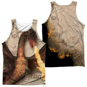 The Hobbit Smaug Attack (front/back) Men's All Over Print Tank