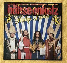 """Böhse Onkelz Vinyl Heilige Lieder Ungespielte Bellaphon Erstpressung """"Noreira"""""""