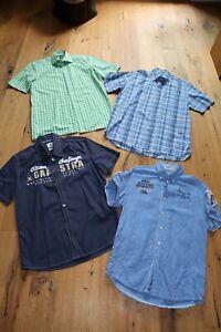 Hemden kurzarm Tommy Hilfiger, Gaastra, Arqueonautas, James B. Cook Größe S&M
