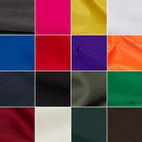 Plain Polyester Twill Fabric 150cm Wide Material Dress Suiting Uniform Skirts