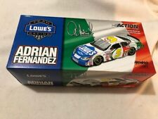 Diecast NASCAR 1/24 Action ADRIAN FERNANDEZ #5 Lowe's Racing SIGNED Autographed