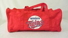 Minnesota Twins - Bud King of Beers - small vintage gym bag ~ GUC