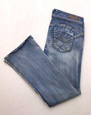 R235 Ariya SWEET CHEEKS RIO Low Rise Bootcut Flare Super Stretch Jeans sz 15/16