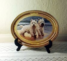 West Highland White Terrier Decorative Plate. 'Shore Pals'