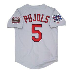 Albert Pujols St. Louis Cardinals 2006 World Series Road Jersey Men's (M-2XL)