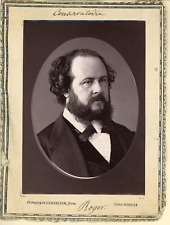 Lemercier, Paris, Conservatoire. M. Roger  Vintage print.  Photoglyptie  8,5