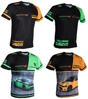 DODGE T-shirt Charger Daytona Hellcat Hemi Challenger Demon SRT RAM 3500 GT1 KW
