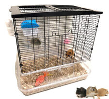 3-Tiers Large Acrylic Clear Hamster Habitat Guinea Pig Rodent Rat Mice Gerbil