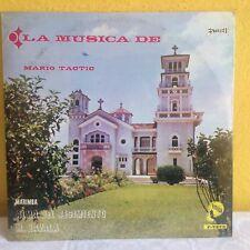 MARIO TACTIC LA MUSICA DE GUATEMALAN LP STILL SEALED MARIMBA