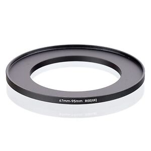 RISE(UK) 67-95MM 67 MM- 95 MM 67 to 95 Step Up Ring Filter Adapter