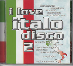 I Love Italo Disco - Italo Disco Musik CD Album 20 Tracks