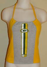 Womens Green Bay Packers Halter Top Belly Shirt DiY Size S