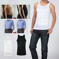 Men Top Slimming Shirt Body Shaper Vest Compression Corsets Undershirt Shapewear