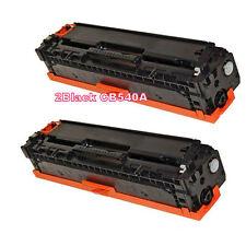 2PK Black Toner for HP 125A CB540A CM1312MFP CM1312NFI CP1215 CP1515 CP1518