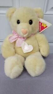 "RARE Vintage DAKIN Bashful  Teddy Bear Plush Stuffed Animal Toy 15"""