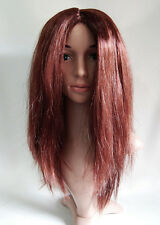 BB6 Ladies Reddish Brown Copper Straight Volume Full Wig Costume Costume Party