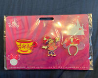 Disney Minnie Main Attraction Pin Set - Mad Tea Party -March