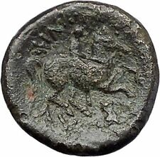 Philip II Alexander the Great Dad OLYMPIC GAMES Ancient Greek Coin Horse i47508