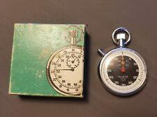 Vintage Alsta 7 Jewel Stopwatch Swiss Made Watch
