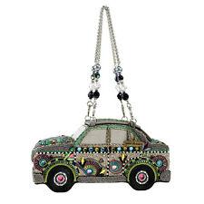 Mary Frances Road Trip Car Pastel Van VW Beetle Bead Handbag Bag New Only 1