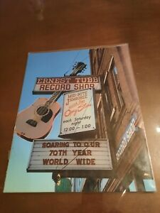 Ernest Tubb Record Shop Nashville Tennessee 11x14 Photo Print Signed By Artist
