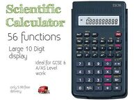 scientific calculator 56 Functions Ideal For GCSE & A/AS Level Work Only 3.99