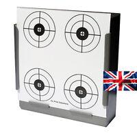 100 - 170gsm Card Air Rifle 4 Circles Crosshair Targets 14cm ( Airsoft  shooting