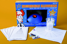 INCREDIBLE ILLUSIONS MAGIC SCIENCE KIT BE AMAZING TOYS