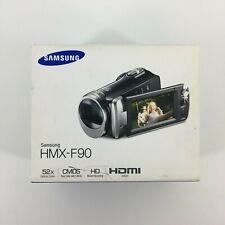 Samsung HMX-F90 Black HD CMOS Sensor 52X Camcorder