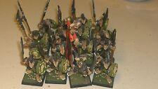 non Gw Warhammer Skaven Stormvermin + Banner oop (16) metal Painted
