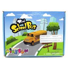 "12 Pcs Supper Elasticity Yellow School Bus Key Chains Die Cast Model 2 5"" Long"